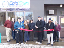 Ribbon Cutting - Cold Snap Technology